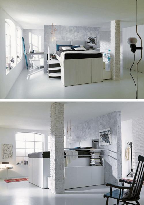 боковые лесенки для высокой кровати со шкафами
