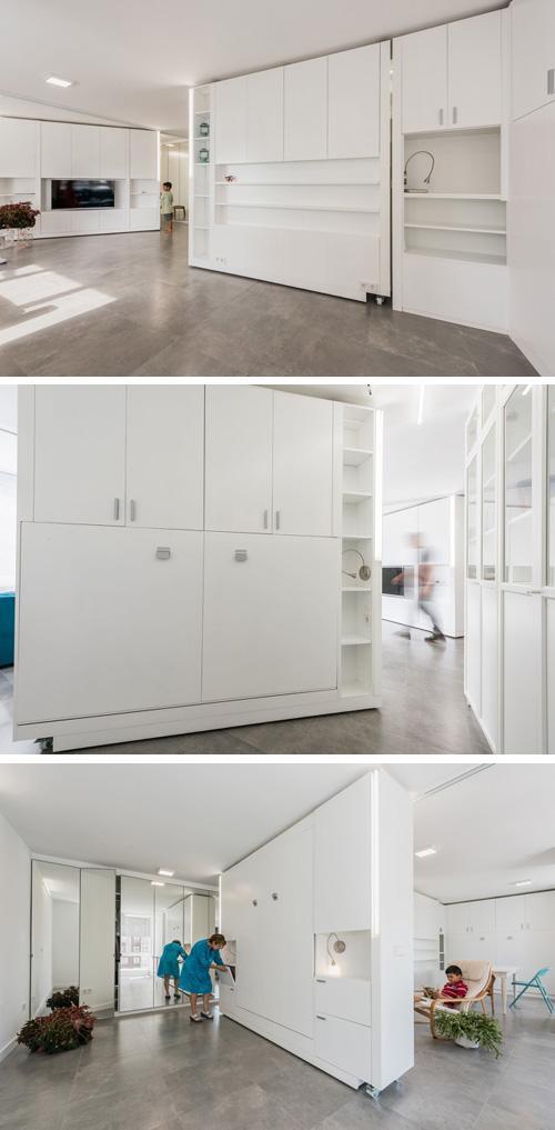 варианты трансформации маленькой квартиры