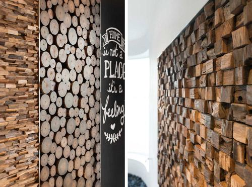 объемные деревянные панно
