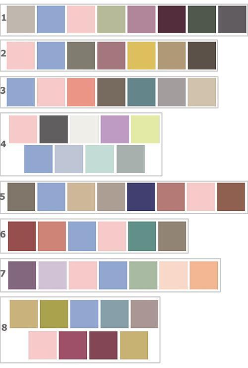 модная цветовая гамма 2016