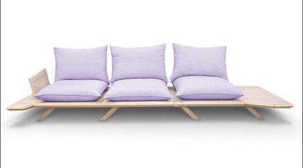 разборный диван со съемными подушками