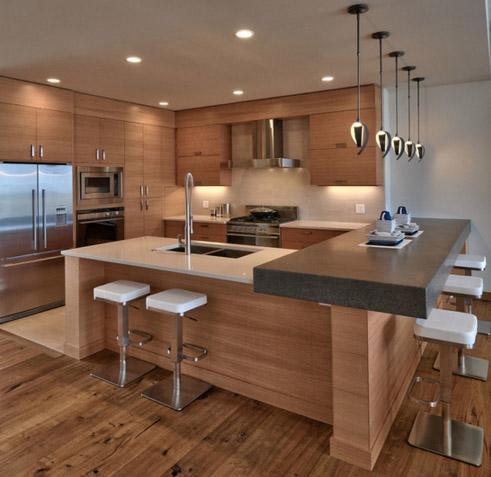 фото кухни с большой глубиной резкости