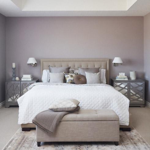 симметрия на фото спальни