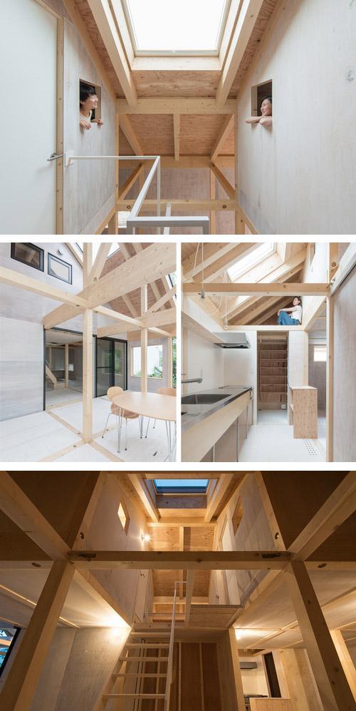 2 этаж со спальнями
