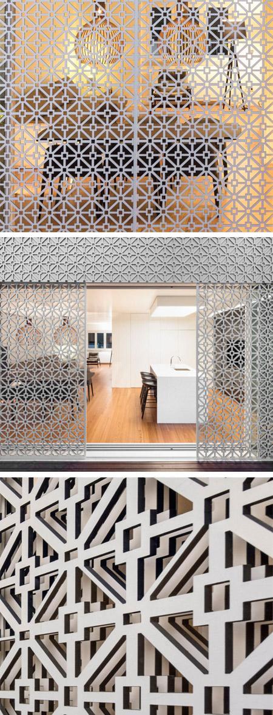 красивый орнамент для металлической решетки