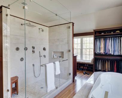 строительный душ на двоих