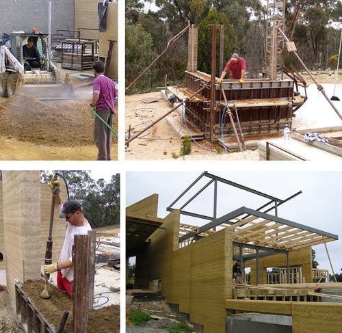 строительство глинобитных домов