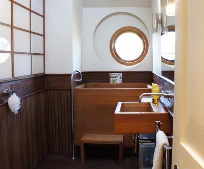 деревянная сантехника в японском стиле