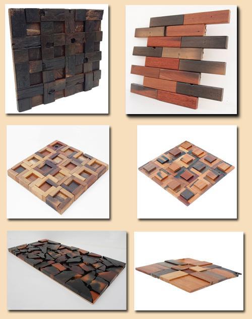 обработка деревянной мозаики методом пирографии